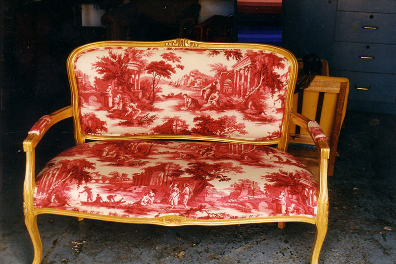 French Provincial Upholstery